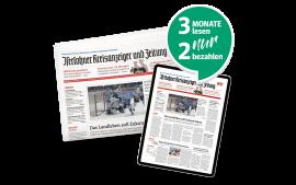 Schnupperabo - 3 Monate lesen - 2 bezahlen